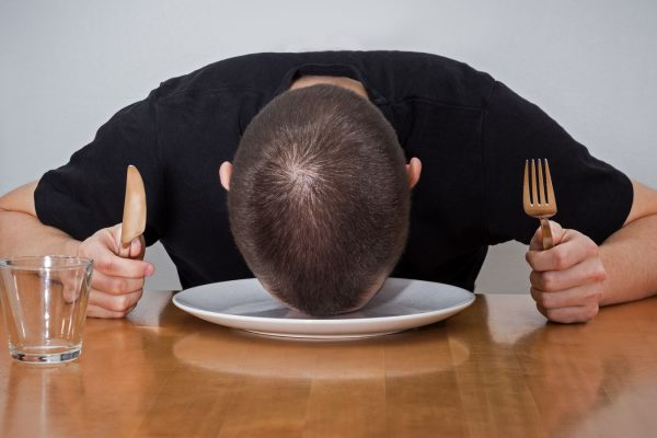 ways to overcome food coma.